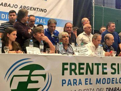 El Frente Sindical se mete en el debate por la Reforma Judicial
