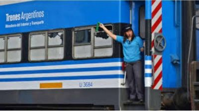 Trenes: gremios ferroviarios acordaron un bono y aumento salarial de 18% hasta abril