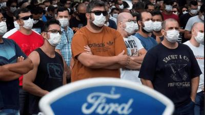 Brasil: Sindicatos de Trabajadores de Ford protestan ante el cierre de plantas