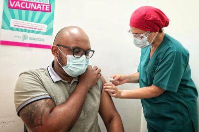 Avanza el Plan de Vacunación contra el Covid-19 en Esteban Echeverría
