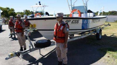 San Fernando: suman nuevas lanchas a la Prefectura Naval para reforzar los controles en el Delta del Paraná