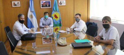 Avellaneda: Chornobroff se reunió con funcionarios nacionales por las tarifas sociales en el servicio de agua y cloacas