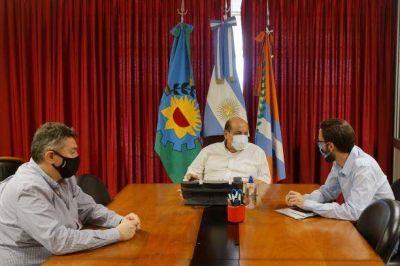 Ministro de Kicillof garantizó el apoyo del gobierno provincial para obras públicas en Berazategui