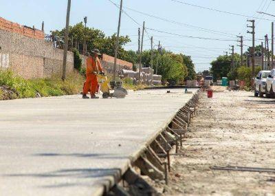 El Municipio de Quilmes avanza con las obras de pavimentación