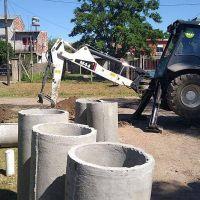 Labores de saneamiento hidráulico en el distrito