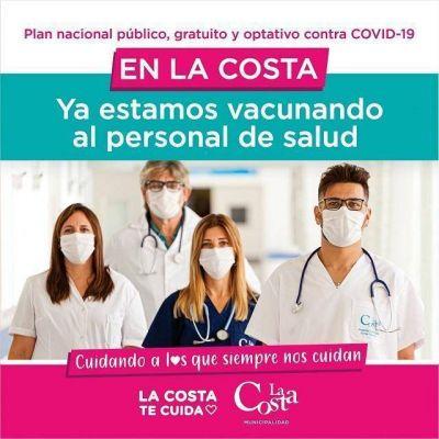 Avanza en el Partido de La Costa el plan nacional de vacunación contra el Covid-19