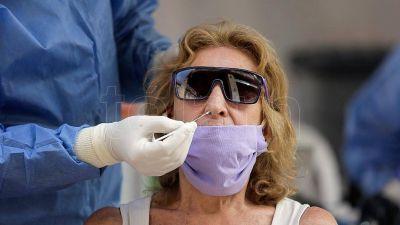 Argentina comenzó el año con 44% más de casos de coronavirus que como finalizó 2020