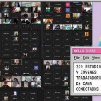 CABA: más de 200 estudiantes y jóvenes precarizadas en asamblea virtual con Pan y Rosas