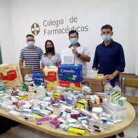 Farmacéuticos entregaron el segundo lote de medicamentos al Hospital