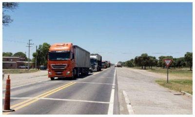 Entre Ríos: Transportistas de carga convocan a un paro nacional