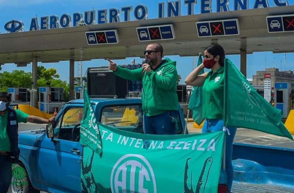 ATE Anac y el Gobierno se reunieron para destrabar el conflicto que postergó el paro nacional