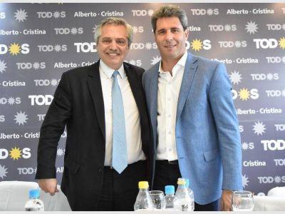 Uñac, con una fuerte movida local para que Fernández presida el PJ nacional