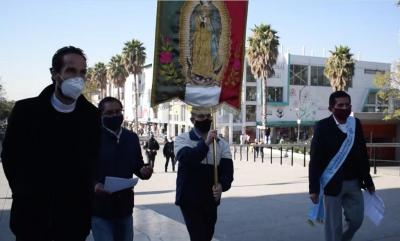 Arquidiócesis realiza primera procesión virtual a la Basílica