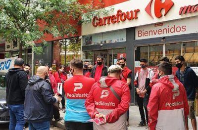 Trabajadores marplatenses de Pedidos Ya reclaman un bono de fin de año y hay debate sobre su encuadre