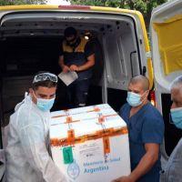 Llega otra tanda de vacunas Sputnik V a Mar del Plata