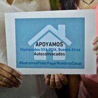 Hipotecados UVA siguen pidiendo