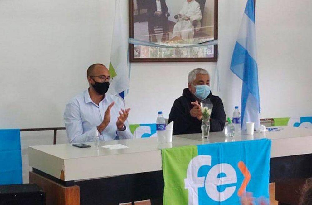 Dirigentes de la Quinta Sección Electoral se reunieron en la sede del Partido Fe