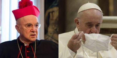 Viganò arremete contra el Papa a raíz de las vacunas
