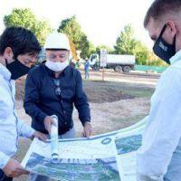 """Nardini: """"Estamos llevando adelante la recuperación del espacio público"""""""