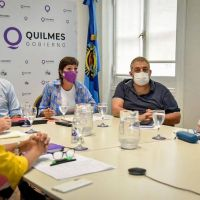 Mayra Mendoza en zoom con los concejales brindó detalles de la campaña de vacunación en Quilmes