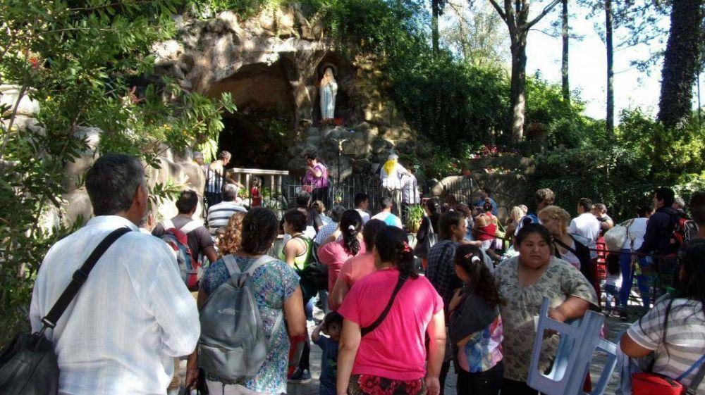 Se suspendió la peregrinación a la Virgen de Lourdes de Alta Gracia