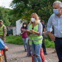 El Gobernador Gerardo Morales participó del rastrillaje epidemiológico en barrio Alto Comedero