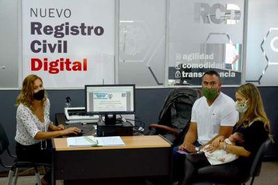 El Gobernador Zamora participó online del lanzamiento oficial del Registro Civil Digital