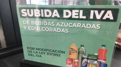 Mercadona ya avisa a sus clientes de la subida del IVA en las bebidas azucaradas