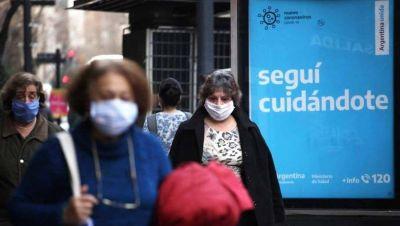 Luego de un mes de suba de casos de coronavirus, caen los contagios en PBA