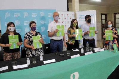 La provincia de Buenos Aires presentó la guía de implementación de la IVE