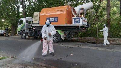 Con equipos de última generación San Isidro combate al dengue