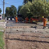 Importantes obras viales en el distrito