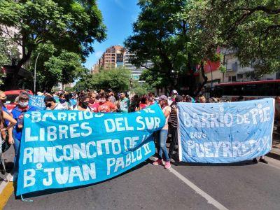 Barrios de Pie marchó en Córdoba para pedir la reactivación de Potenciar Trabajo