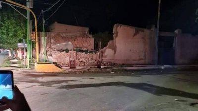 San Juan: un herido grave tras el terremoto
