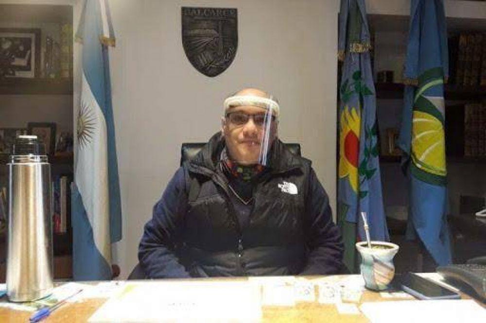 El Intendente Municipal se vacunó contra el Covid-19