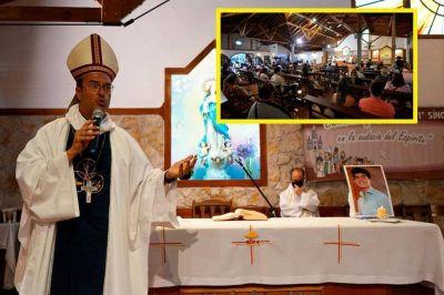 No olvidamos. El obispo Mestre encabezó la misa por Fernando Baez Sosa y la iglesia habló del hecho, como pocas veces, como un