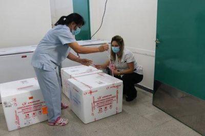 Llegó la segunda dosis de la Sputnik V a San Luis y este miércoles inicia la vacunación