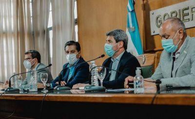 Tras el sismo, Uñac anunció ayuda económica para los municipios y la visita del presidente Alberto Fernández