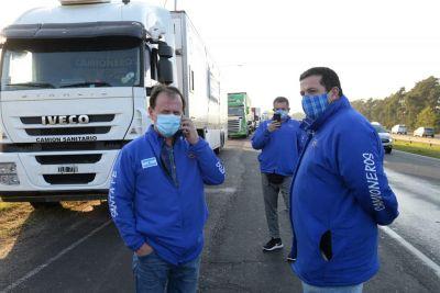 Covid: Sindicato de camionero santafecino exige plan de vacunación