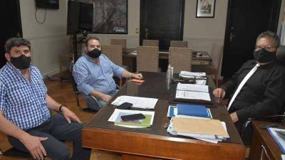 Reunión entre UATRE y el municipio de Concordia