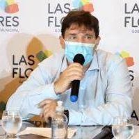 Covid-19 en Las Flores: El intendente interino Fabián Blanstein dio positivo