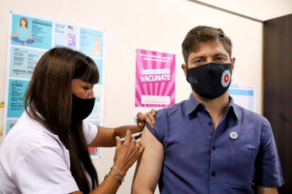Coronavirus: Kicillof se colocará la segunda dosis de la vacuna Sputnik V