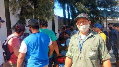 Estibadores reclamaron ingresar a las listas rotativas de trabajo en Maripasa