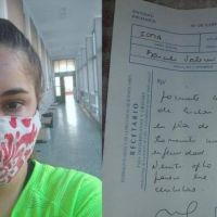 Una joven de Berazategui reclama entrega de medicamentos a IOMA
