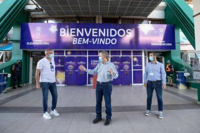 "Schiaretti: ""El Kempes ya está listo para la final de la Copa Sudamericana"