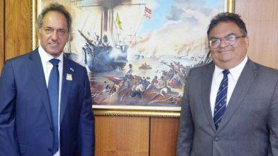 Llega a la Argentina un hombre clave del Gobierno de Jair Bolsonaro