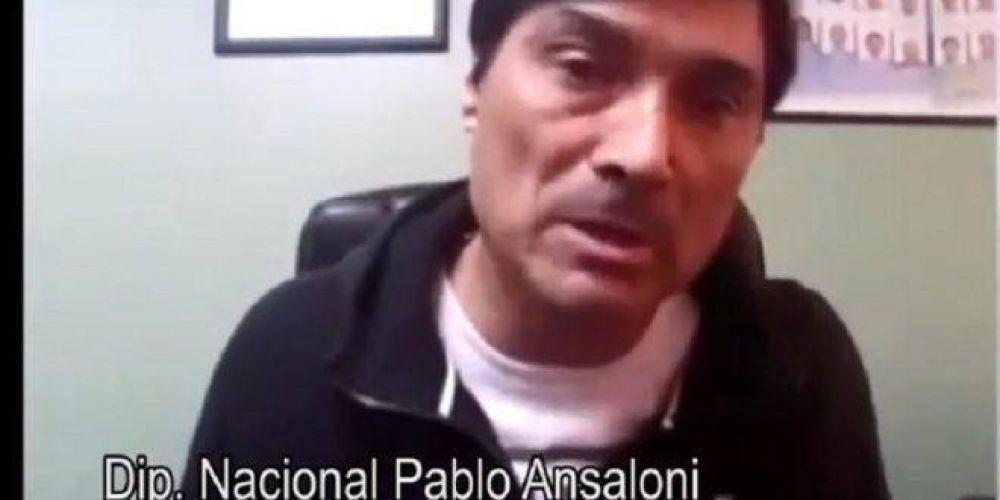 La UATRE expulsó del gremio al diputado Pablo Ansaloni por sus declaraciones racistas y antisemitas