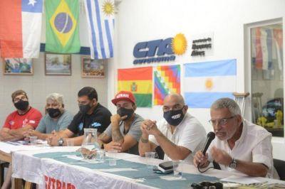 """Grosi: """"Desterrar la violencia y la extorsión será una acción política permanente por parte del Sitraic"""""""
