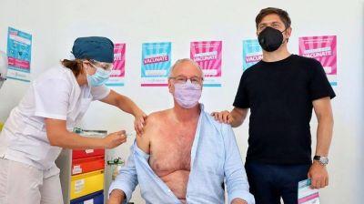 El Ministro de Salud bonaerense fue la primera persona mayor de 60 años en recibir la vacuna Sputnik V