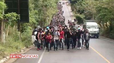 Caravana de migrantes: Iglesia en Centroamérica pide atacar causas que originan migraciones